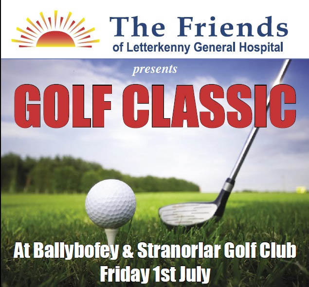 Crumlish Appliances support Friends of Letterkenny University Hospital Golf Classic