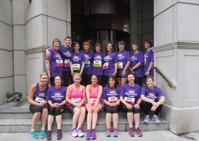2016 Ladies Mini Marathon participants ready for the off.