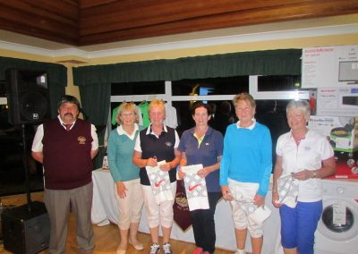 2016 Lady Winners of Annual Golf Classic at Ballybofey & Stranorlar Golf Club