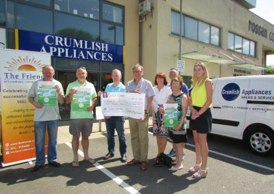 Crumlish Appliances  sponsors golf classic