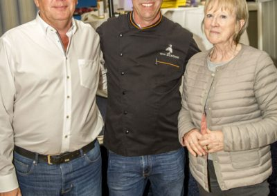 Peter Cutliffe, Kevin Dundon and Ann McGowan