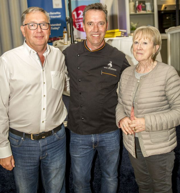 Kevin Dundon's cookery demonstration