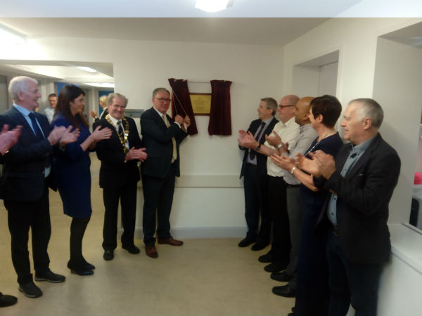 Official Opening of new CT Scanner in LUH