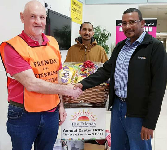 Results of Easter Hamper Draw, 2019